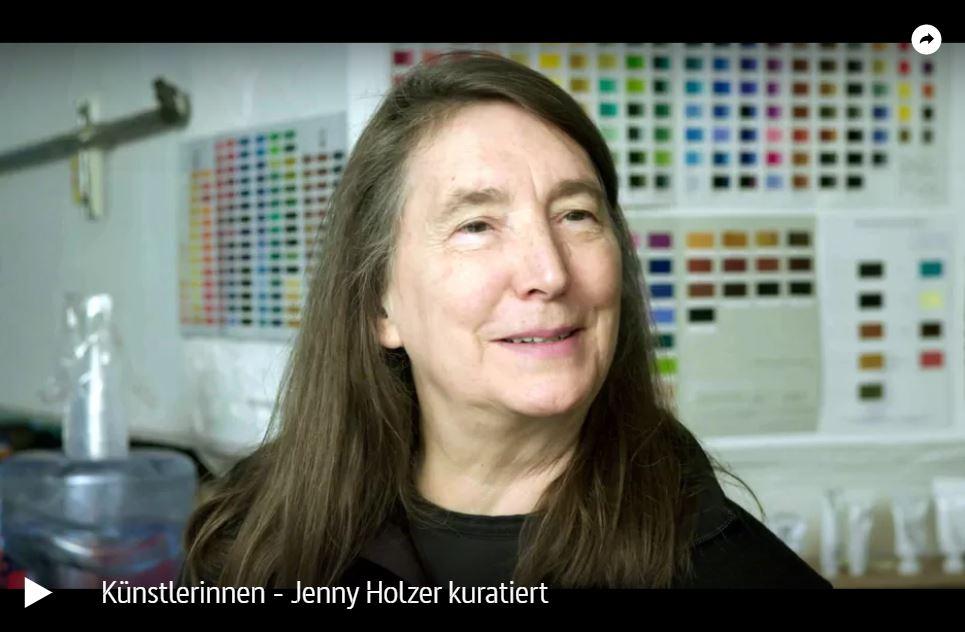 ARTE-Doku: Künstlerinnen - Jenny Holzer kuratiert