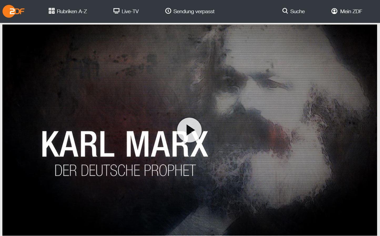 ZDF-Doku: Karl Marx - der deutsche Prophet | Dokudrama mit Mario Adorf