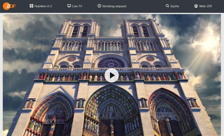 ZDF-Doku: Notre-Dame - Die Jahrtausendkathedrale