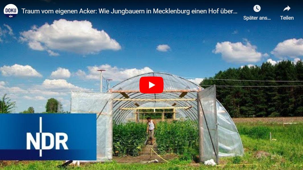 NDR-Doku: Traum vom eigenen Acker - Wie Jungbauern in Mecklenburg einen Hof übernehmen
