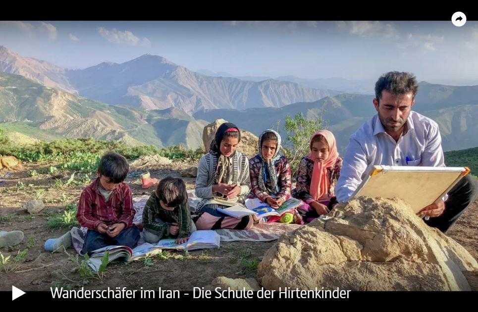 ARTE-Doku: Wanderschäfer im Iran - Die Schule der Hirtenkinder