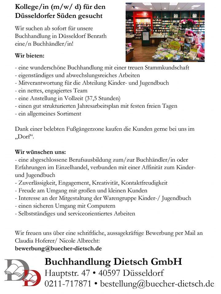 Buchhändler*in