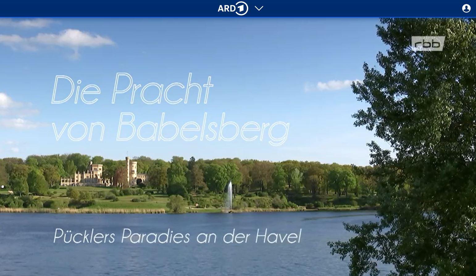 RBB-Doku: Die Pracht von Babelsberg