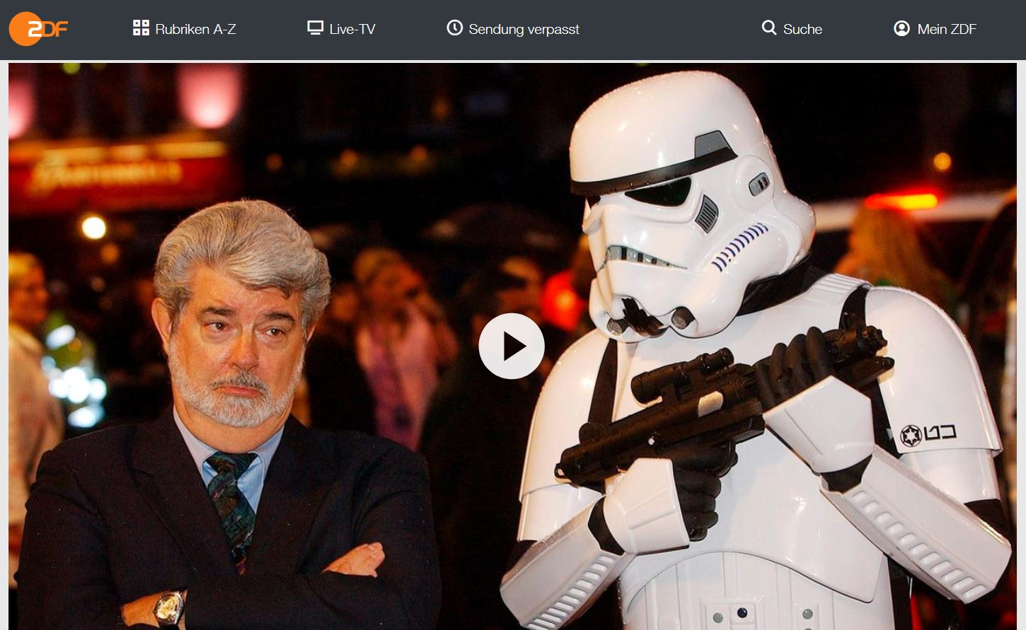 ZDF-Doku: Die Science-Fiction-Propheten - George Lucas und Star Wars