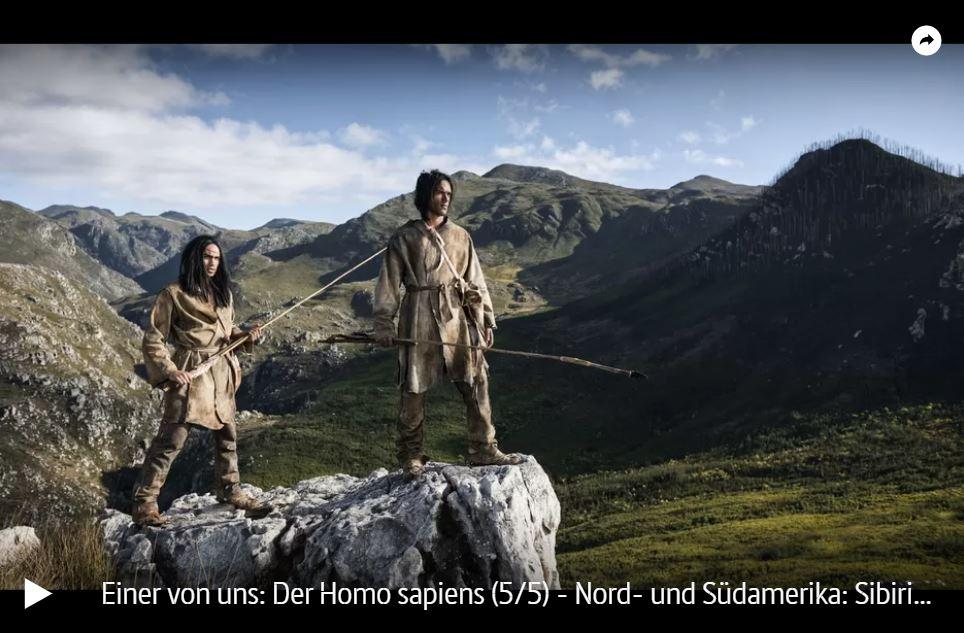ARTE-Doku: Einer von uns - Der Homo sapiens (5 Teile)
