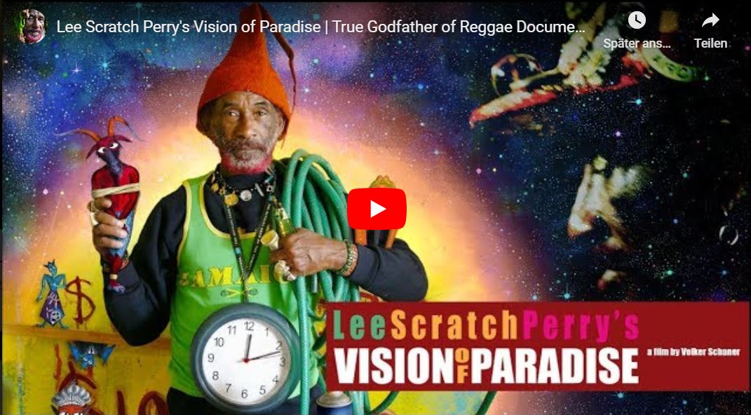 "Fufoo Film: Lee ""Scratch"" Perry's Vision of Paradise - True Godfather of Reggae Documentary"