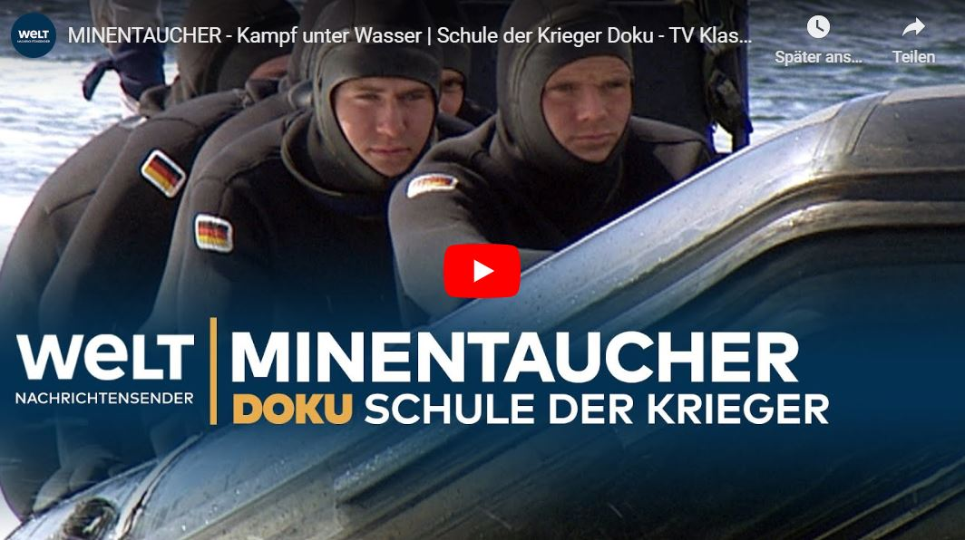 WELT-Doku: Minentaucher - Kampf unter Wasser