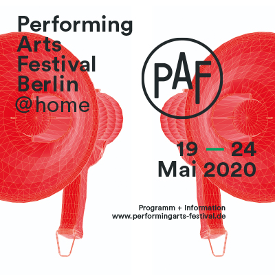 Performing Arts Festival Berlin 2020 @home