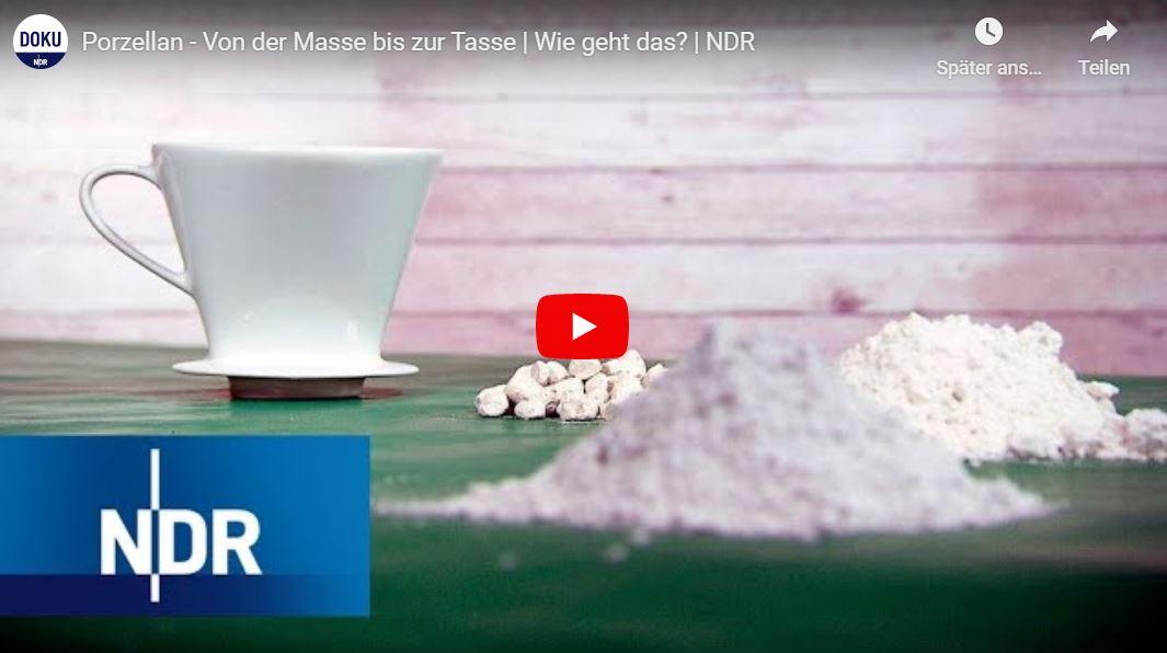 NDR Doku: Porzellan - Von der Masse bis zur Tasse