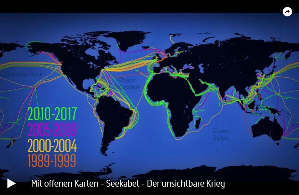 ARTE: Seekabel - Der unsichtbare Krieg | Mit offenen Karten