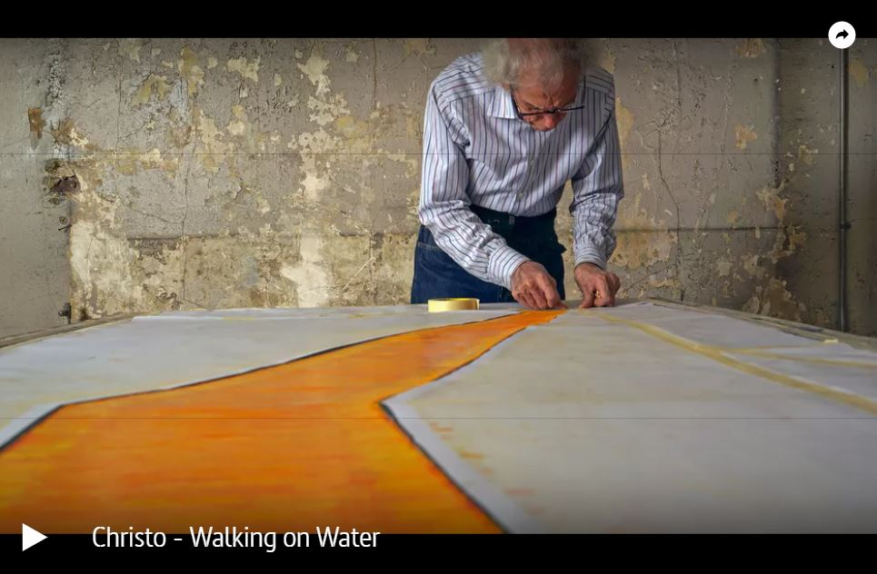 ARTE-Doku: Christo - Walking on Water