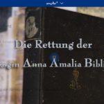 MDR-Doku: Eine Nacht und tausend Tage - Die Rettung der Anna-Amalia-Bibliothek