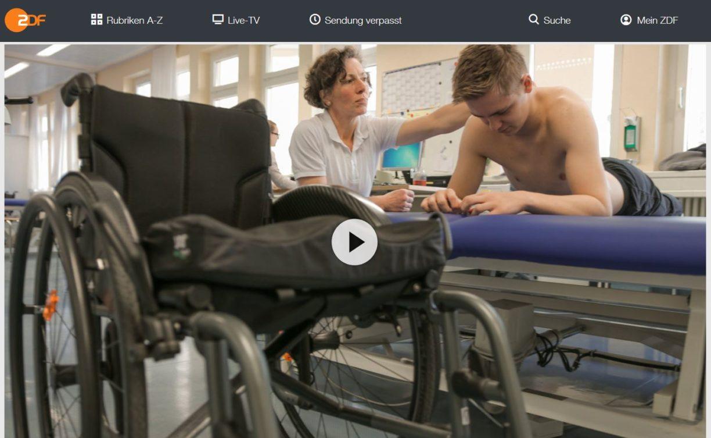 ZDF: Im Traum kann ich wieder laufen - Nikolas will raus aus dem Rollstuhl // Doku-Empfehlung von Geli Hesse