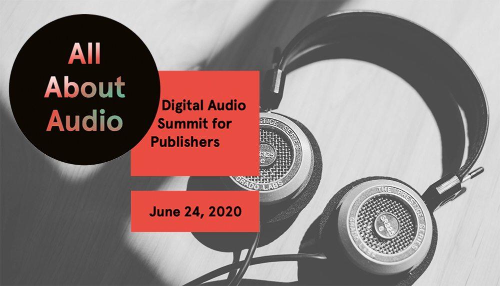 All About Audio International 2020 – die Digitalkonferenz für Publisher zum weltweiten Audiomarkt