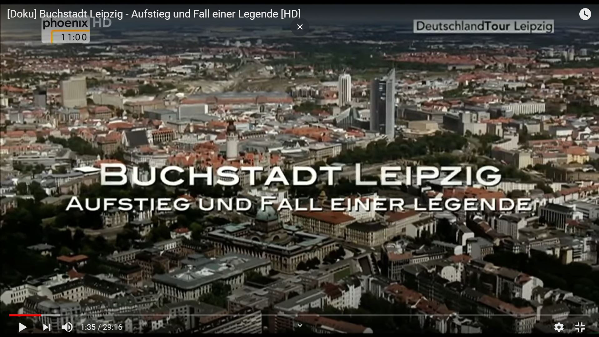 ARD-Doku: Buchstadt Leipzig - Aufstieg und Fall einer Legende
