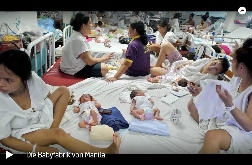 ARTE-Doku: Die Babyfabrik von Manila