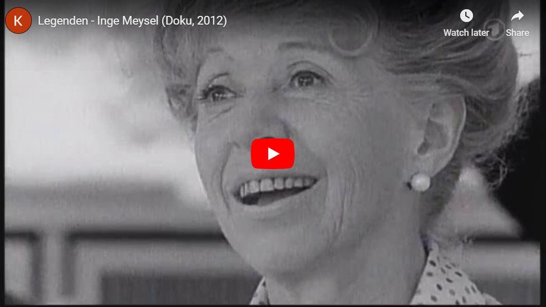 ARD-Doku: Legenden - Inge Meysel