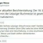 Leipziger Buchmesse 2021: »Es gibt keinen Alternativtermin.«
