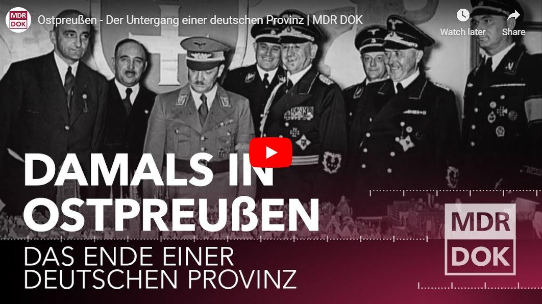 MDR-Doku: Ostpreußen - Der Untergang einer deutschen Provinz