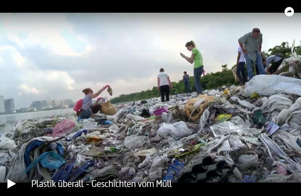 ZDF-Doku: Plastik überall - Geschichten vom Müll