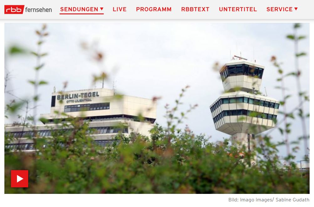 ARD-Doku: Tegels letzter Sommer