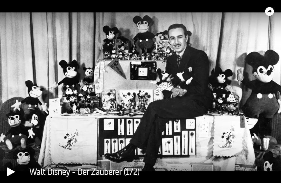 ARTE-Doku: Walt Disney - Der Zauberer (2 Teile)