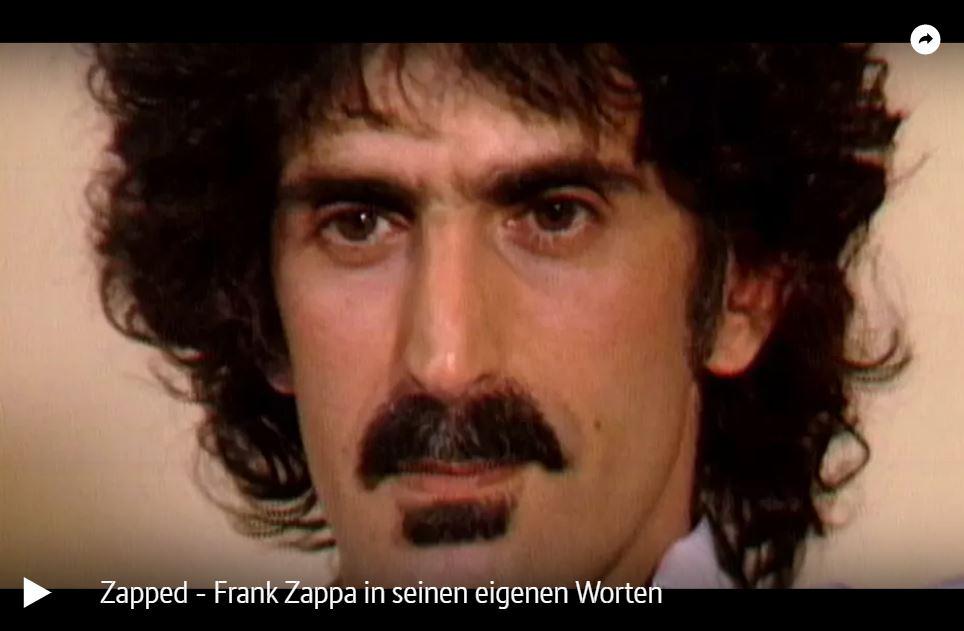 ARTE-Doku: Zapped - Frank Zappa in seinen eigenen Worten