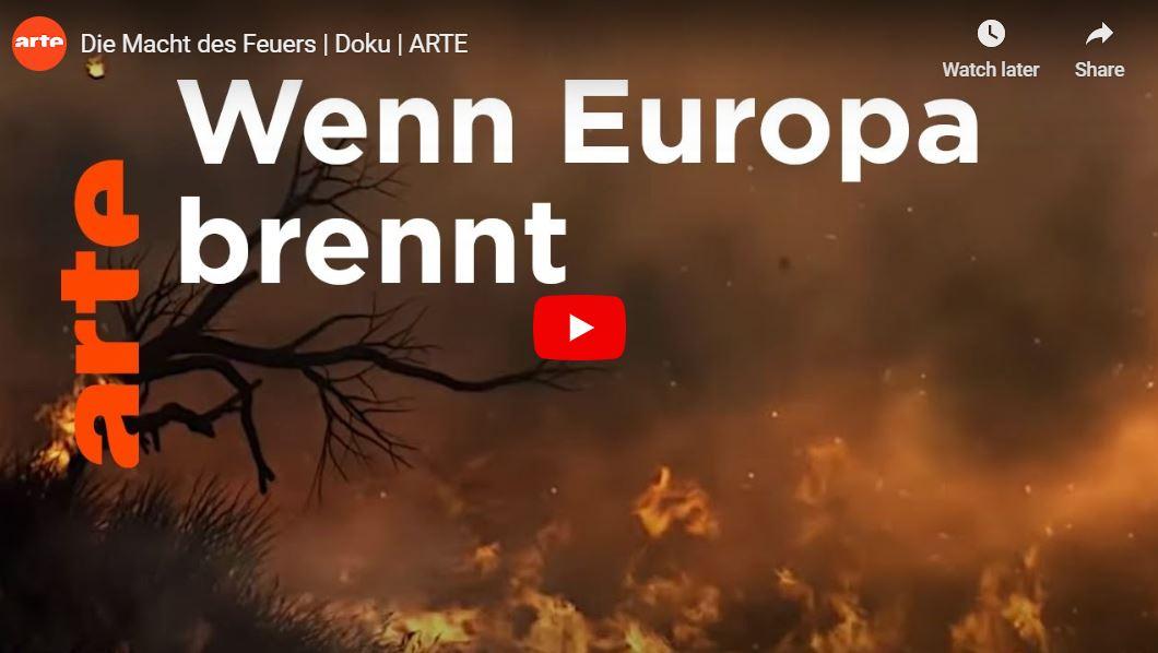 ARTE-Doku: Die Macht des Feuers
