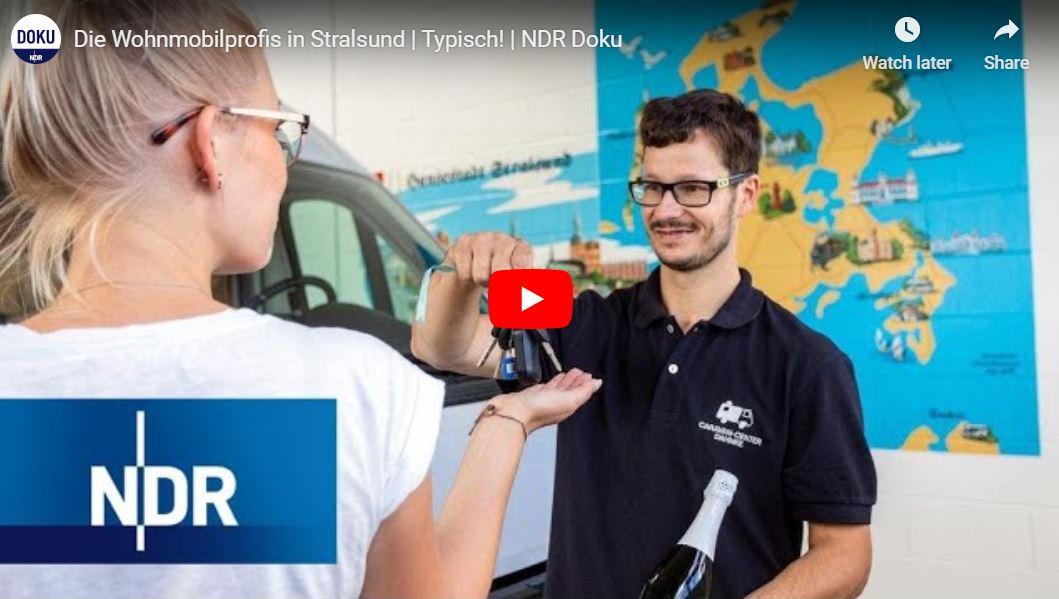 NDR Doku: Caravan Center Dahnke - Die Wohnmobilprofis in Stralsund