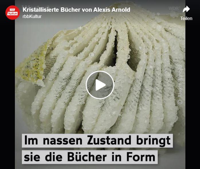 Alexis Arnold: Kristallisierte Bücher