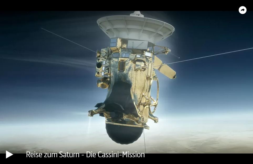 ARTE-Doku: Reise zum Saturn - Die Cassini-Mission