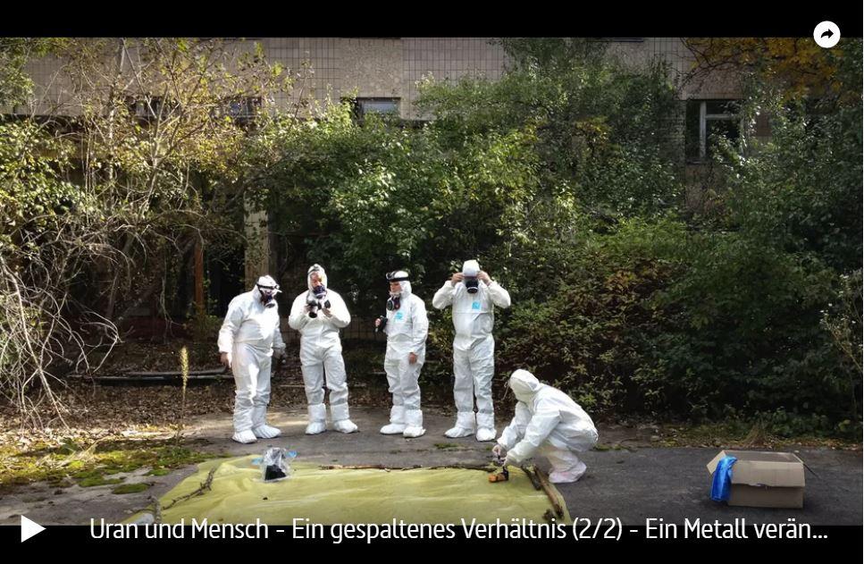 ZDF-Doku: Uran und Mensch - Ein gespaltenes Verhältnis (2 Teile)