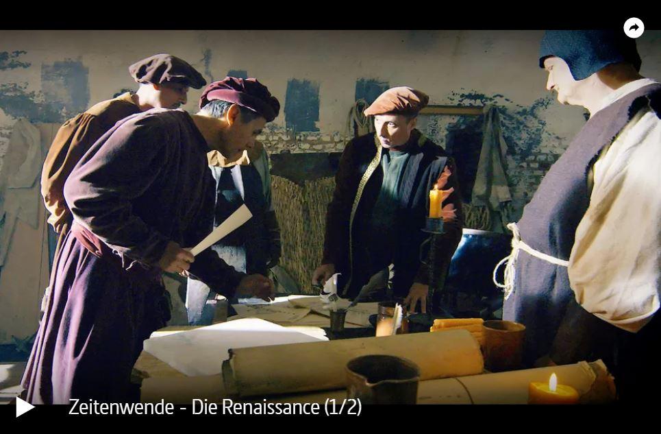 WDR-Doku: Zeitenwende - Die Renaissance (2 Teile)