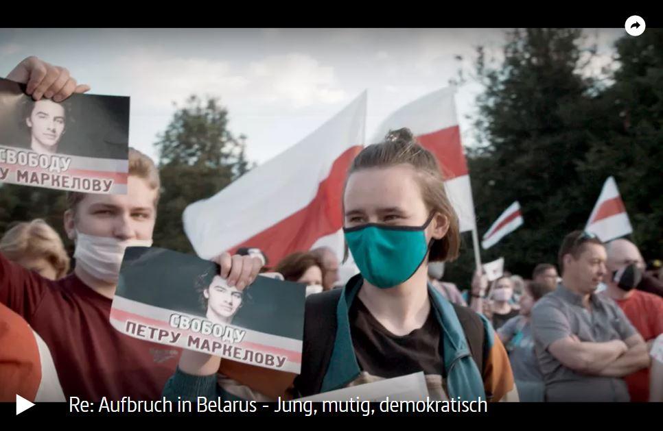 ARTE-Doku: Aufbruch in Belarus - Jung, mutig, demokratisch