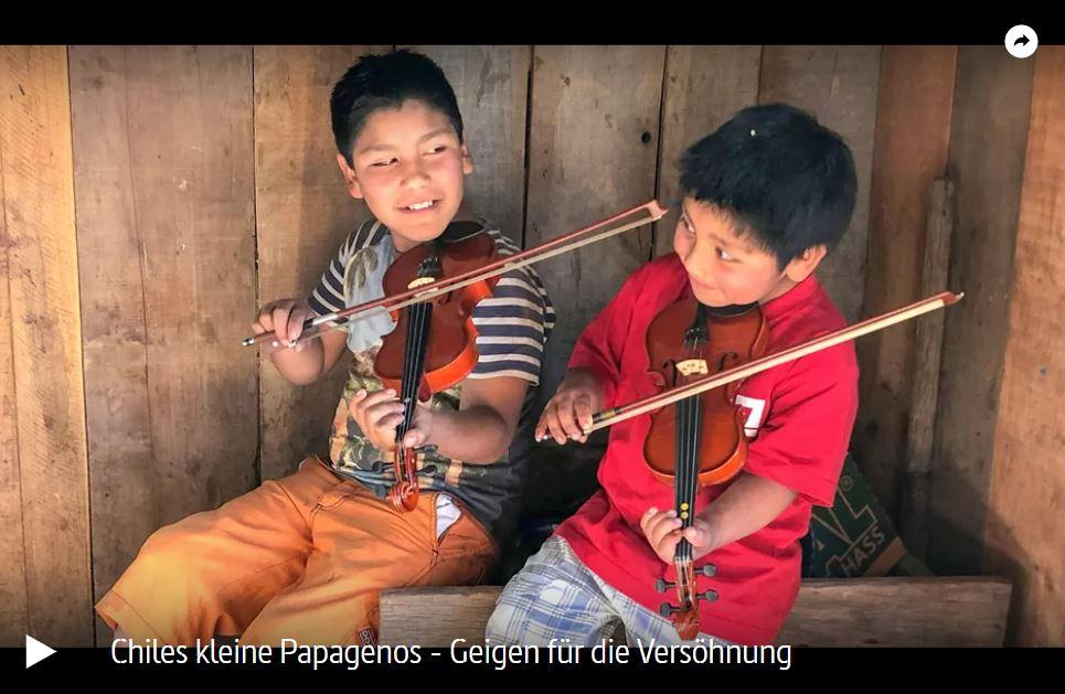 ARTE-Doku: Chiles kleine Papagenos - Geigen für die Versöhnung