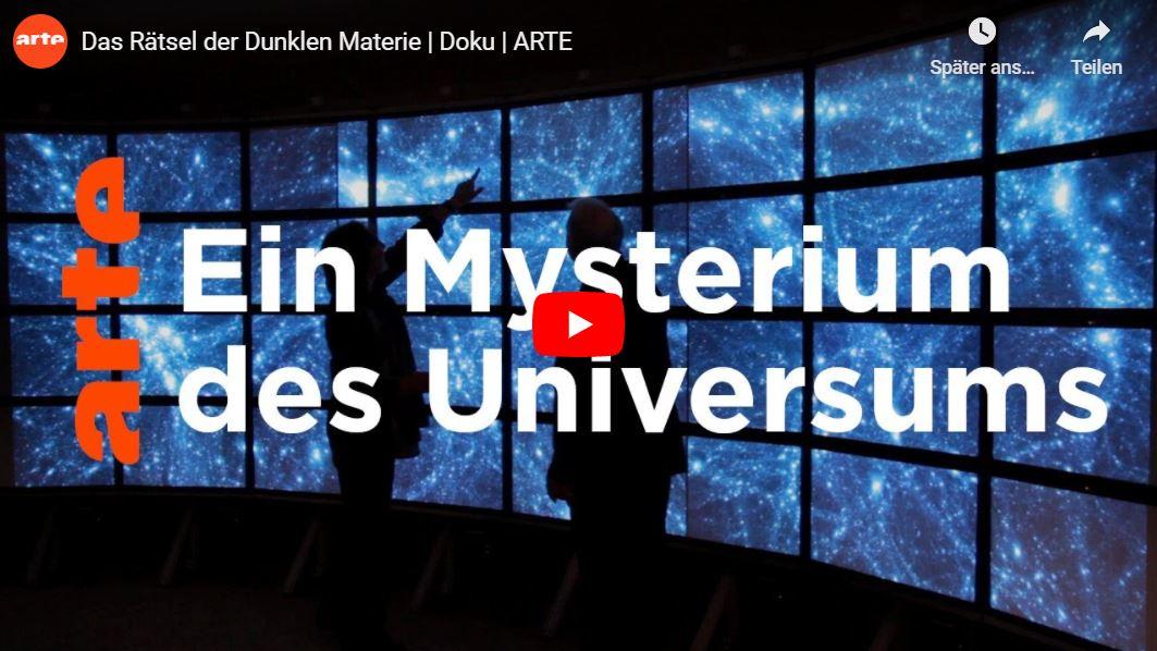 ARTE-Doku: Das Rätsel der Dunklen Materie
