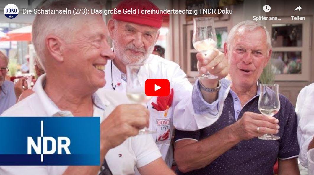 NDR Doku: Die Schatzinseln - Das große Geld