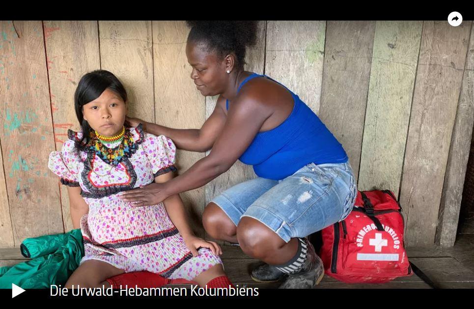 ARTE-Doku: Die Urwald-Hebammen Kolumbiens