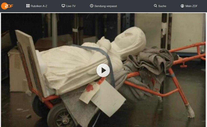 ZDF-Doku: Geraubte Kunst - Millionen für den Terror