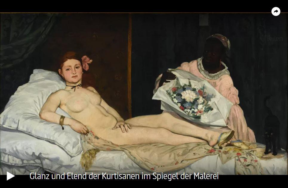 ARTE-Doku: Glanz und Elend der Kurtisanen im Spiegel der Malerei