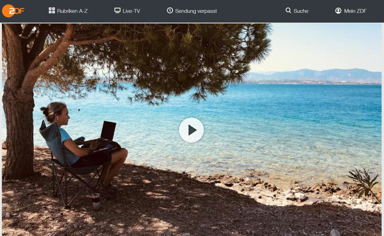 ZDF-Doku: Homeoffice am Strand - Mit dem Notebook auf Weltreise | 37 Grad