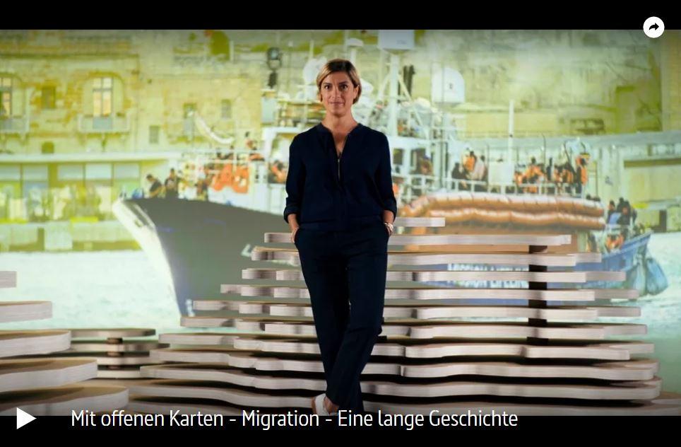 ARTE: Migration - Eine lange Geschichte | Mit offenen Karten