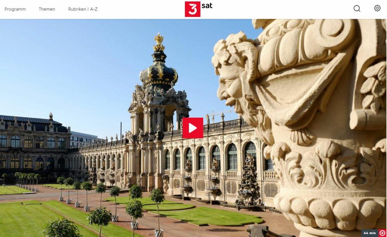 3sat-Doku: Poesie in Sandstein - 300 Jahre Dresdner Zwinger