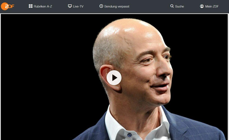 ZDF-Doku: Weltmacht Amazon - Das Reich des Jeff Bezos