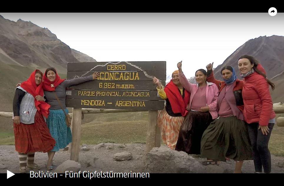 ARTE-Doku: Bolivien - Fünf Gipfelstürmerinnen