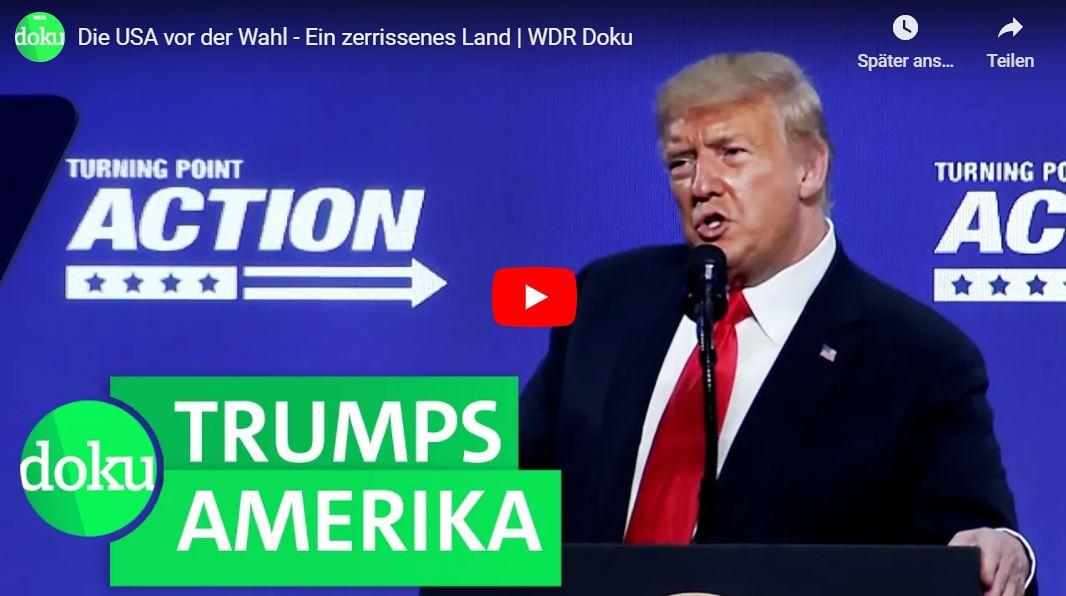 WDR-Doku: Die USA vor der Wahl - Ein zerrissenes Land