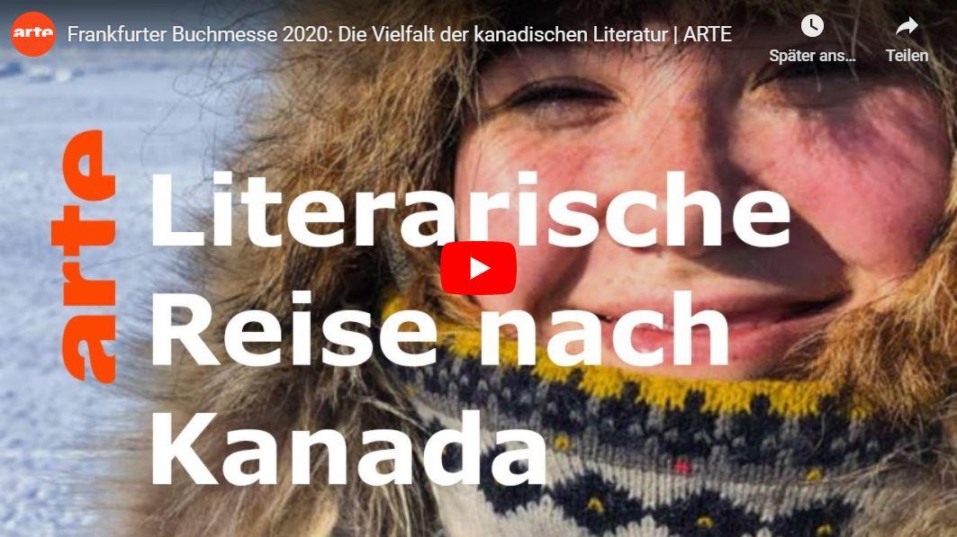 Video-Tipp: Diskussionsrunde über die Vielfalt der kanadischen Literatur