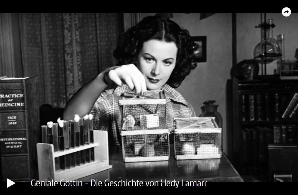 ARTE-Doku: Geniale Göttin - Die Geschichte von Hedy Lamarr