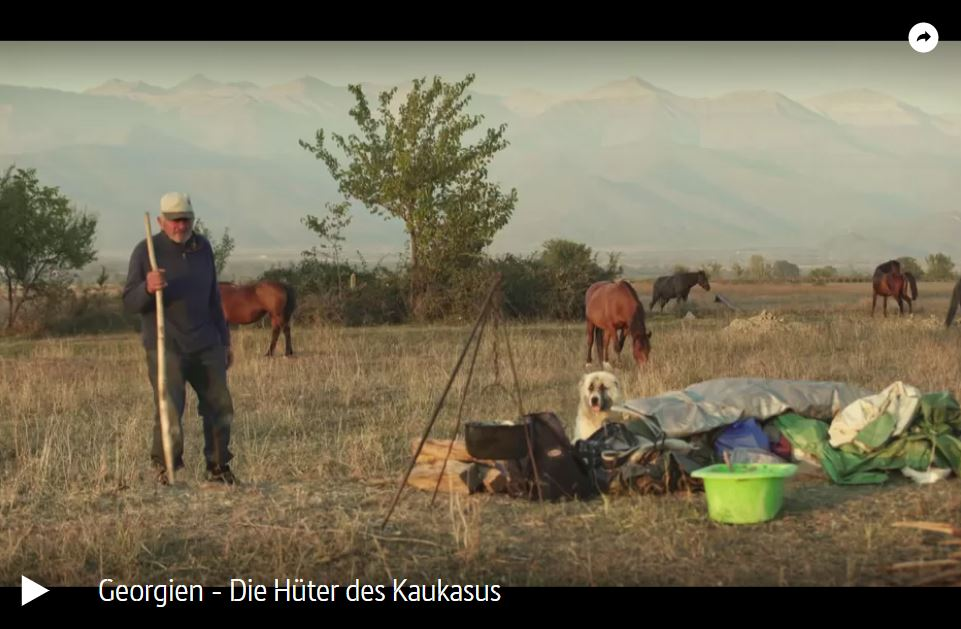 ARTE-Doku: Georgien - Die Hüter des Kaukasus