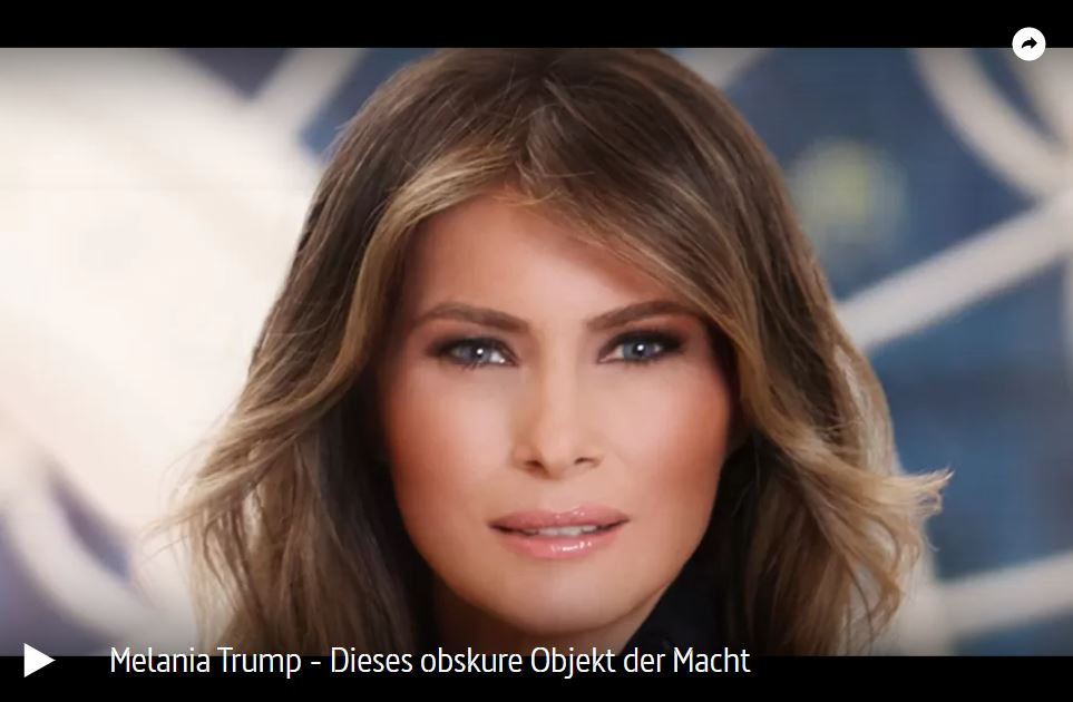 ARTE-Doku: Melania Trump - Dieses obskure Objekt der Macht